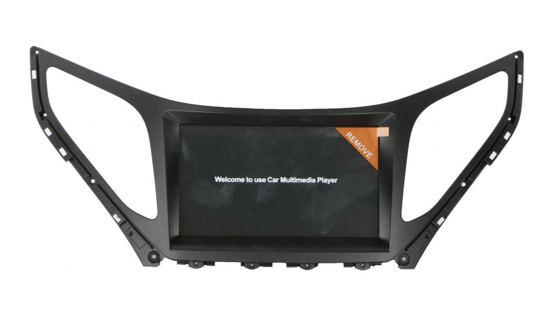 لوكال شاشة سيارة هيونداي ازيرا 2016 , 8 انش - LOCAL A0046GPS